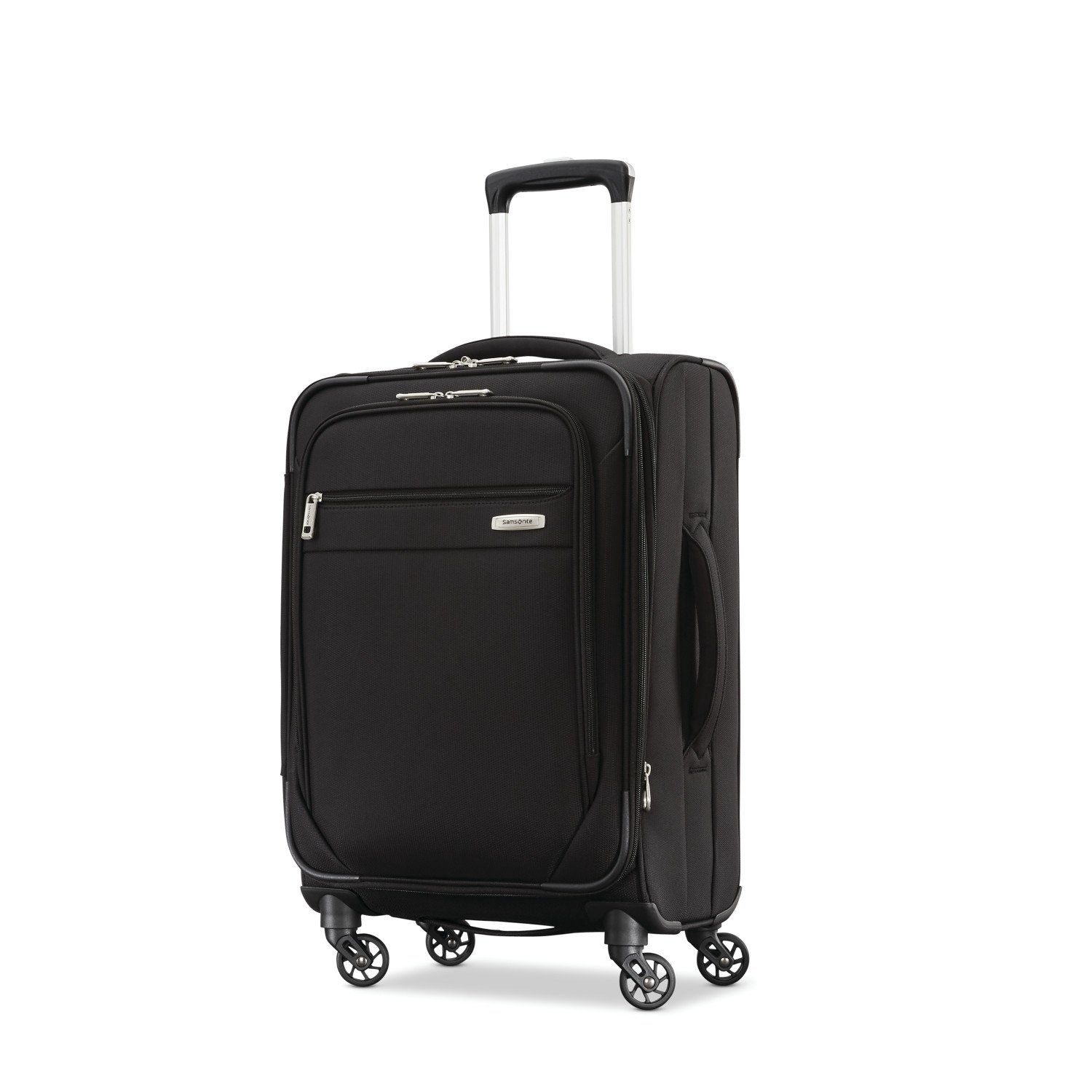 Samsonite Advena Expandable Softside Carry On Luggage with Spinner Wheels, 20 Inch, Black