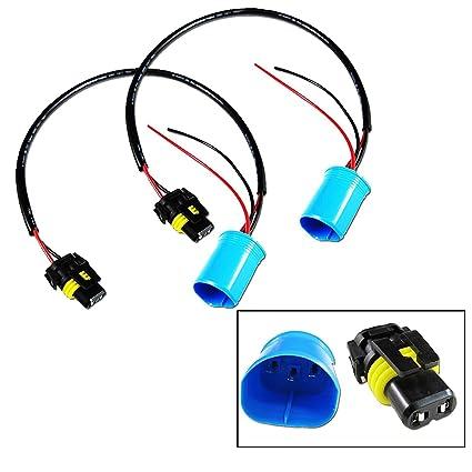Amazon 9006 To 9007 Conversion Wires Adapters Headlight Retrofit HID Kit Installation Automotive