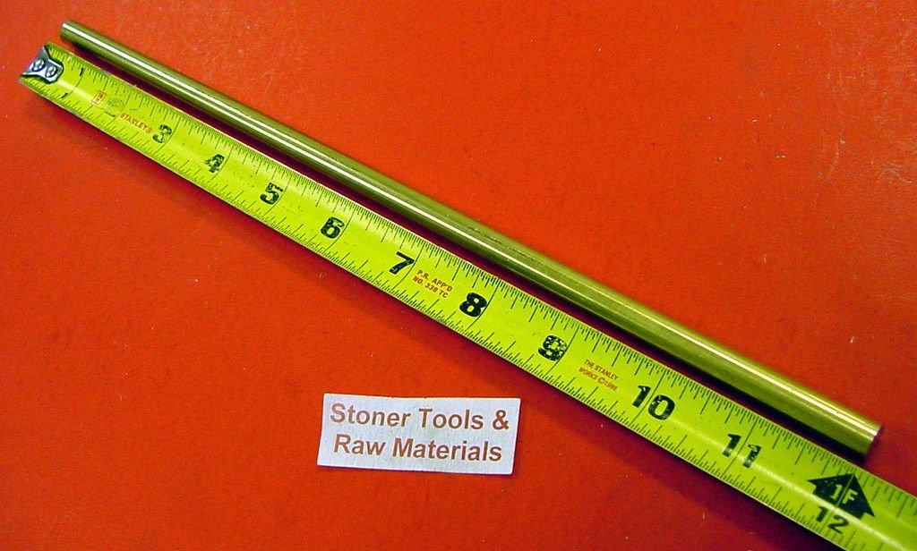 .375 3//8/'/' Brass Round Bar Rod C360 x48/'/'