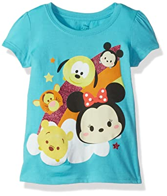 577ce2eef Amazon.com  Disney Girls  Tsum Tsum T-Shirt  Clothing
