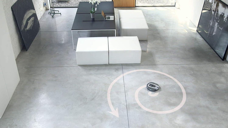Hoover RBC050 - Robot aspirador con filtro HEPA, hasta 90 mins. de autonomía, programable semanal, incluye un muros virtual, color azul java: Hoover: ...