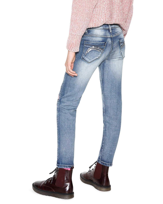 Amazon.com: Desigual - Pantalones vaqueros para niña (tallas ...