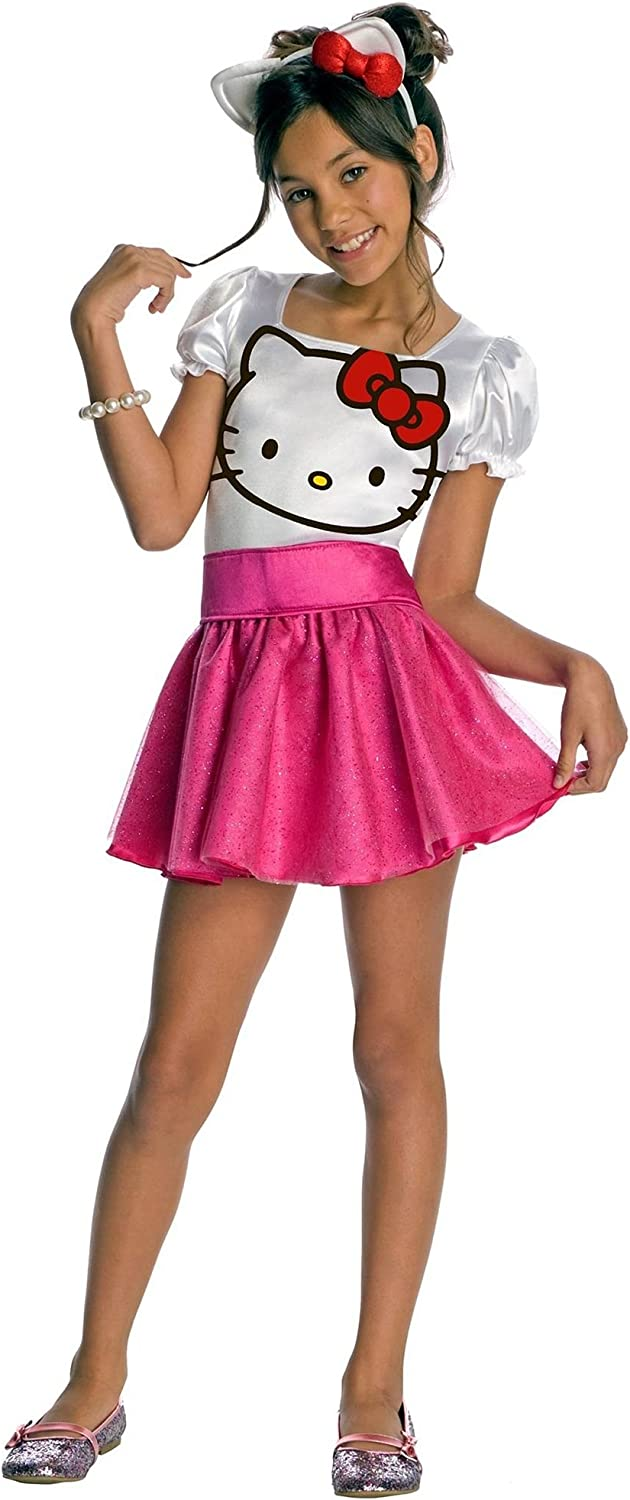 Hello Kitty Tutu Costume Fancy Dress For Girl/'s
