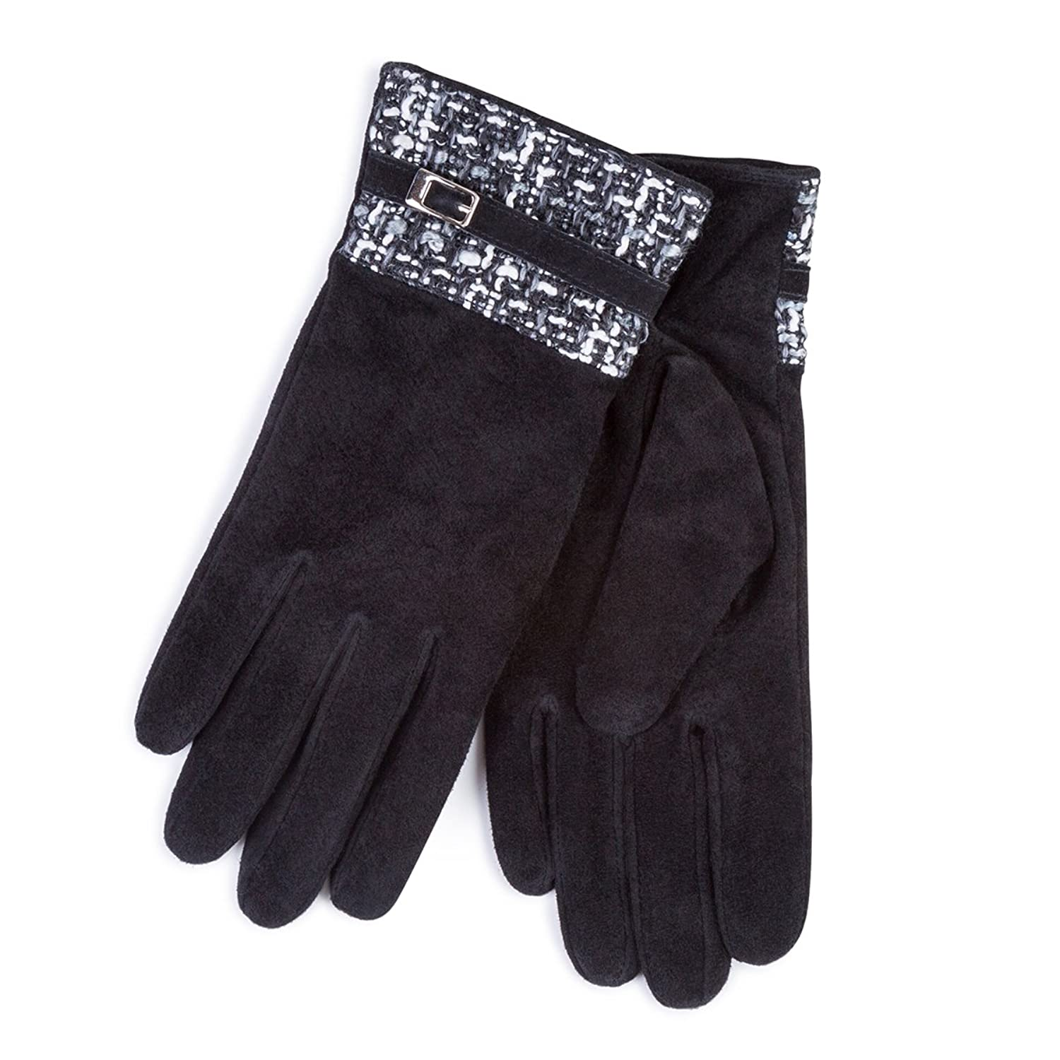 New Stylish Womens Leopard Bow Gloves Ladies Winter Gloves Free UK Delivery