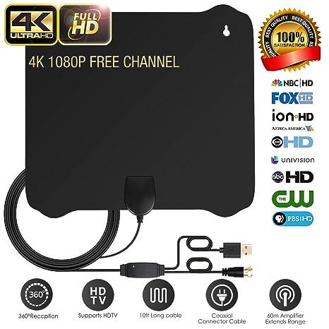 Review TV Antenna, Digital HD