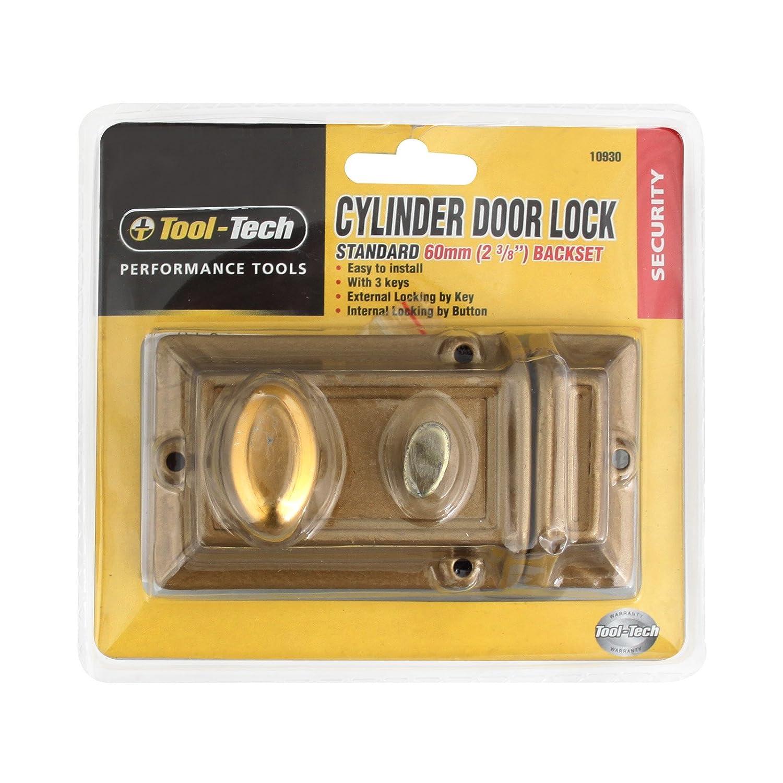 Tool Tech Cylinder Door Lock