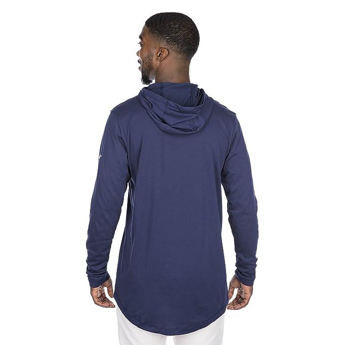 ba81453ff Amazon.com   Dallas Cowboys Nike Dri-Blend Hood Tee   Sports   Outdoors