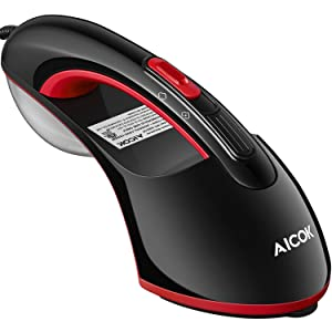 Steam Iron, AICOK Handheld Clothes Steamer with Unique Dual Steam Settings, 1200W 15s Fastest Preheat, 2 in 1 Vertical & Horizontal Garment Steamer, Removable Water Tank, Portable for Home and Travel