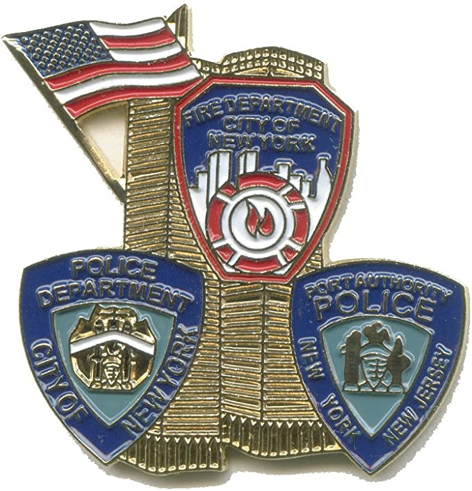 Hegibaer 422 Anstecker Motiv September 11 2001 World Trade Center Usa Küche Haushalt