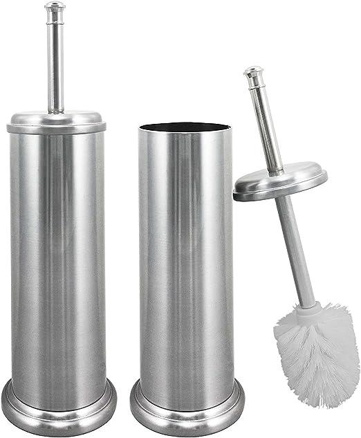 White Plastic 18.6/x 9.4/x 47.2/cm simplehuman Toilet Brush