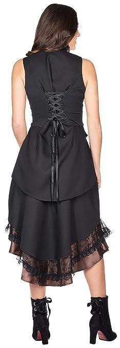 Rubies Disfraz de Mujer Falda Steampunk Carnaval con Estampado de ...