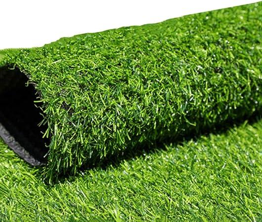 12WZS Alfombra de césped Artificial de 20 mm de Alto, Suave y cómoda, para jardín Interior y Exterior, para Mascotas, 2x4m: Amazon.es: Hogar