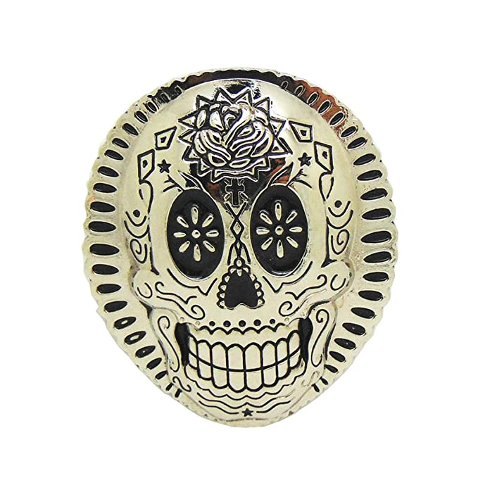 1Pc Vintage Totem Tattoo Skull Belt Buckle Cowboy Western Men/'s Accessories