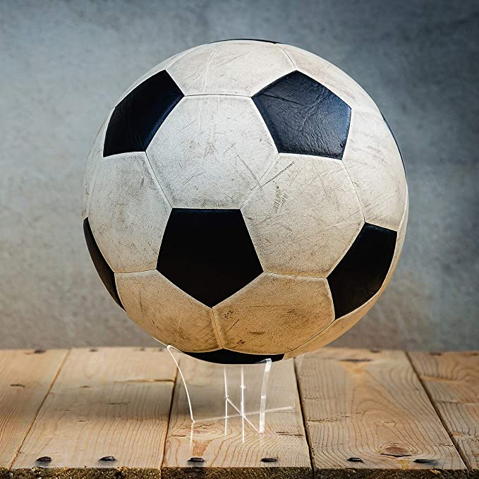 LIOOBO - Expositor para balón de fútbol de plástico acrílico para ...