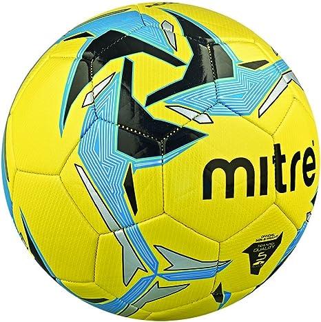 Mitre Indoor V7 - Balón de fútbol interior, Amarillo (Gelb ...