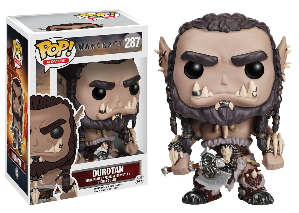 Warcraft Durotan Action Figure 7468 Accessory Consumer Accessories Toys /& Games Miscellaneous Funko POP Movies
