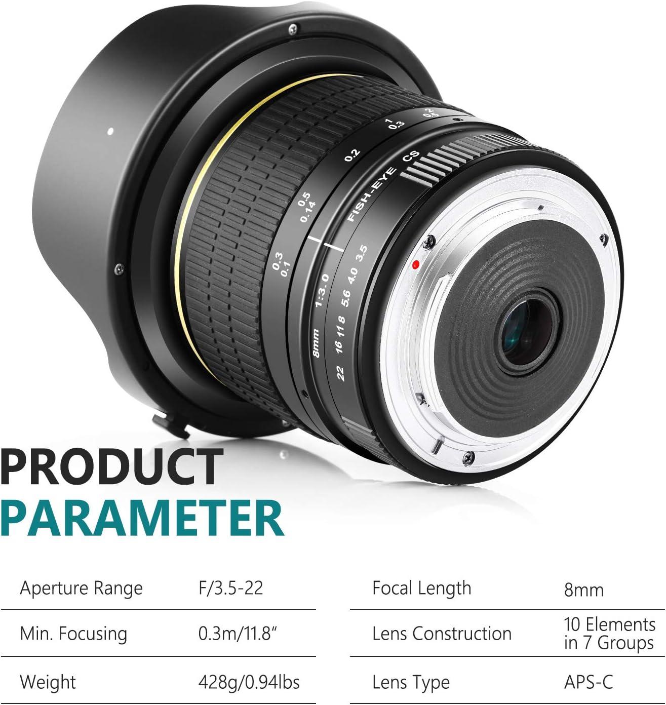 Kamera & Foto Objektive sumicorp.com Neewer 8mm F/3.5 Ultra ...