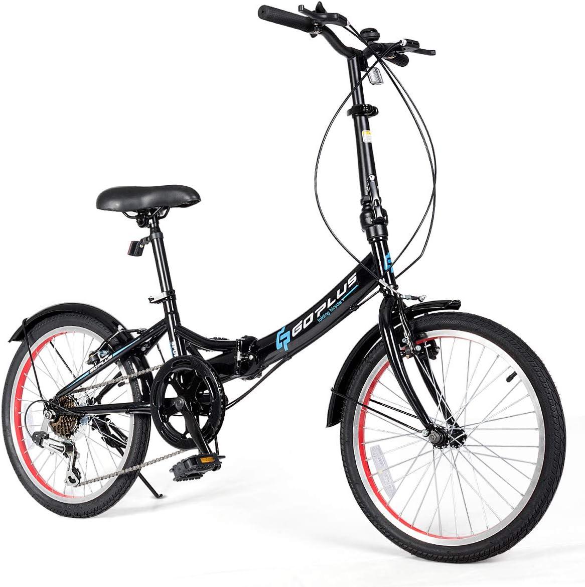 Goplus 20'' Folding Bike