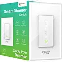 Gosund Smart Dimmer Switch, Smart WiFi Light Switch Works with Alexa Google Home, with Remote Control Timer Countdown…