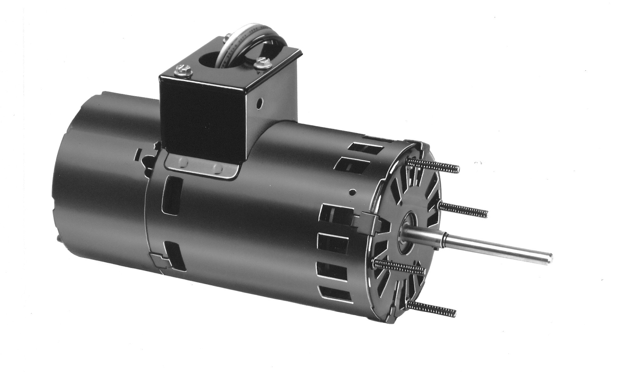 Fasco D1178 3.3'' Frame Open Ventilated Permanent Split Capacitor OEM Replacement Motor withSleeve Bearing, 1/16HP, 3450rpm, 208-230V, 60Hz, 0.57 amps