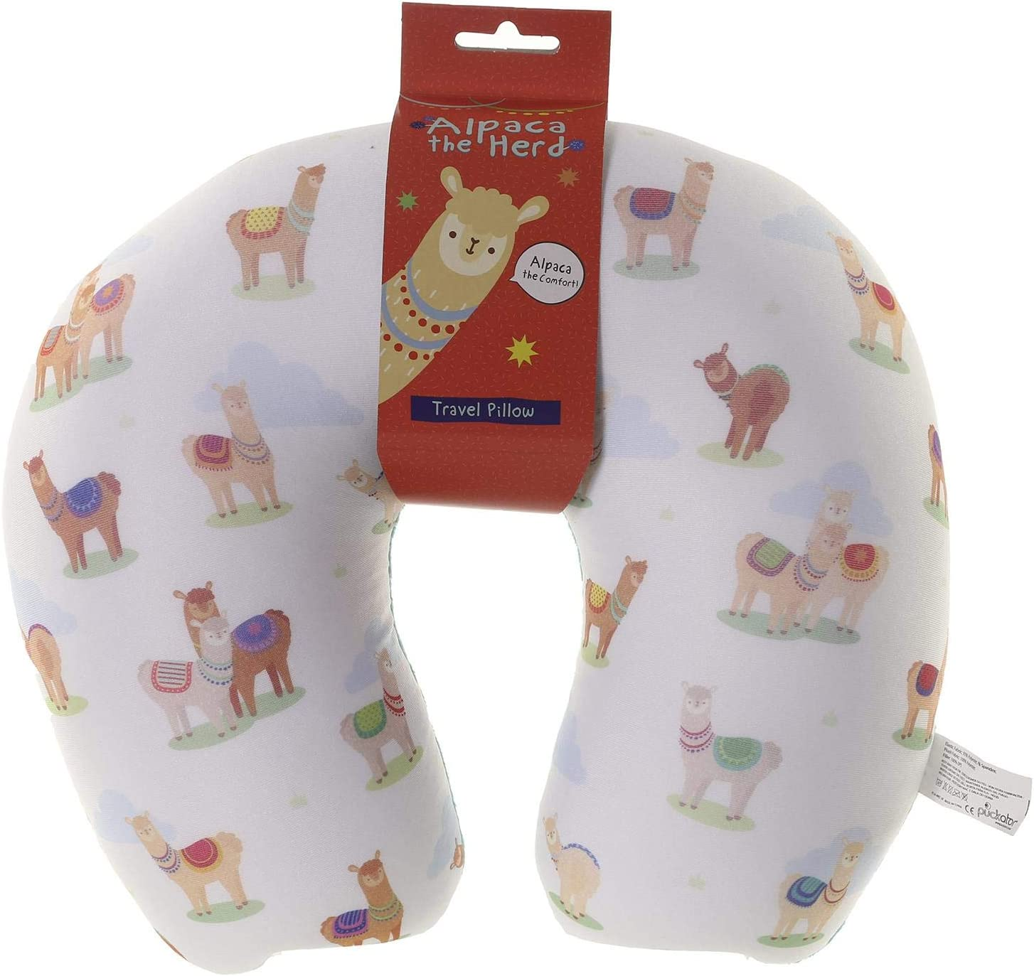 Puckator Alpaca The Herd Travel Pillow