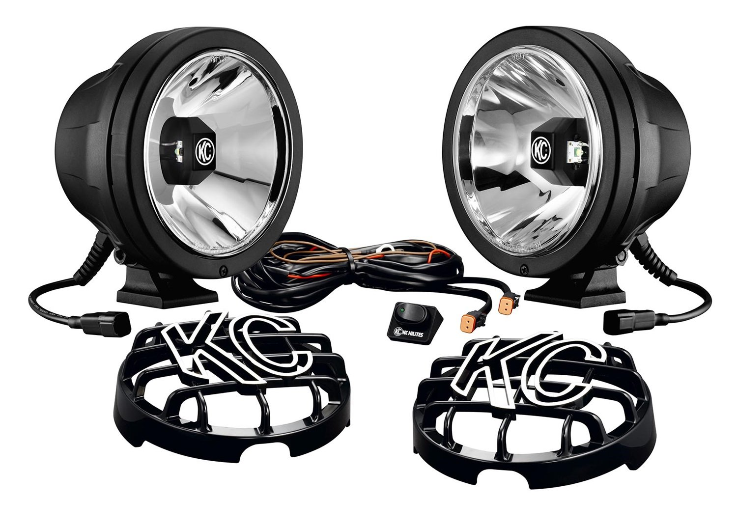Amazon.com KC HiLiTES 644 6-Inch Pro Sport LED Drive Beam Pack - Pair Automotive  sc 1 st  Amazon.com : key lighting kc - azcodes.com