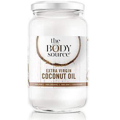 Aceite de Coco Virgen Extra de 1 Litro - Crudo y Prensado en Frío - 100