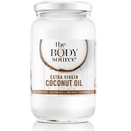 Aceite de Coco Orgánico Extra-Virgen de 1 litro. 100% Puro, Sin Refinar, Crudo y Prensado en Frío. Con Certificación Orgánica: Amazon.es: Alimentación y ...
