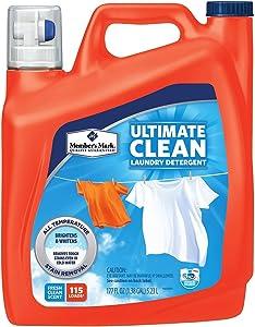Member's Mark Ultimate Clean Liquid Laundry Detergent (177 fl. oz, 115 loads)