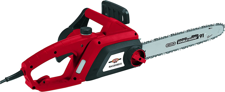 Racing RAC2035ECS Motosierra eléctrica 2000 W y 35 cm espada, Rojo, m
