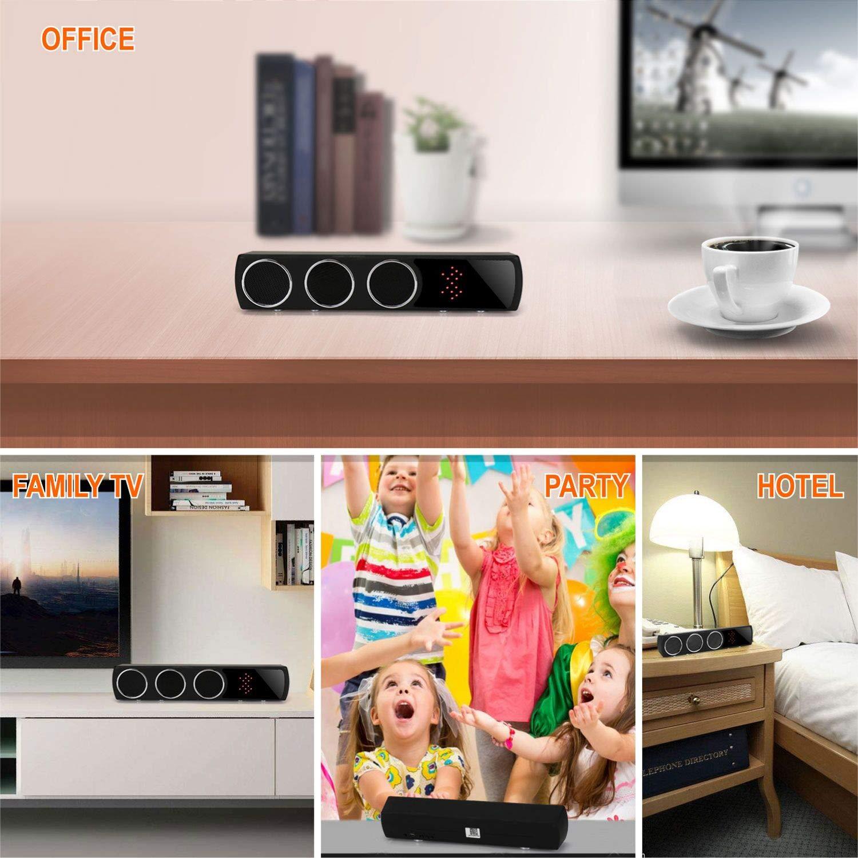 Altavoz Bluetooth IP con Cámara Espía Wifi Oculta Inalámbrica HD1080P, Rango de 160 Grados Visión Nocturna con Tarjeta SD de 32G Incorporada para Vigilancia ...