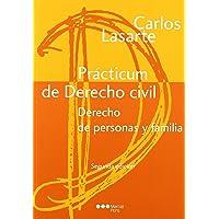 Prácticum de Derecho civil. Derecho de personas y familia: Derecho de personas y familia (Manuales universitarios)