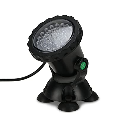 36 Led Submersible Underwater Spot Light For Water Garden Pond Fish Tank Pool Fountain Waterproof Spotlight-red Lights & Lighting