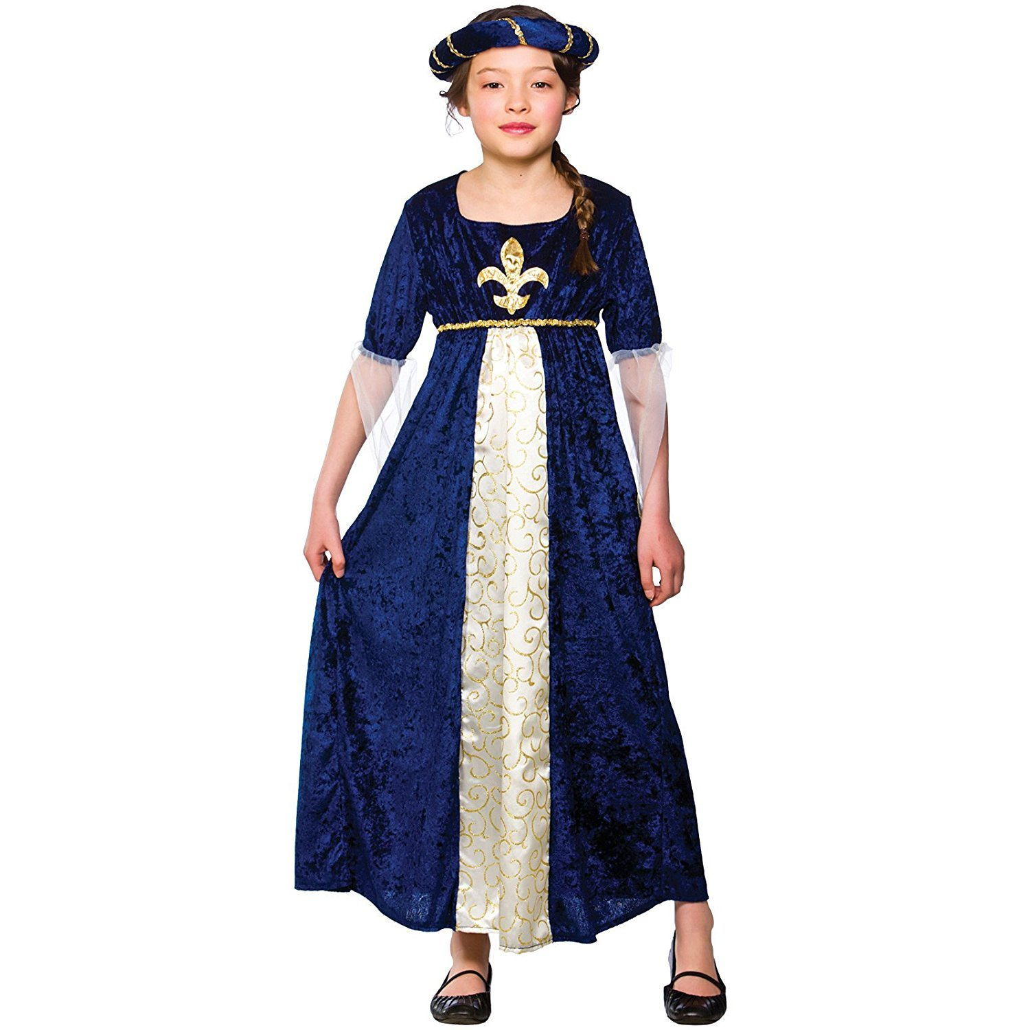 NEW Medieval Maiden Tudor Ladies Fancy Dress Costume