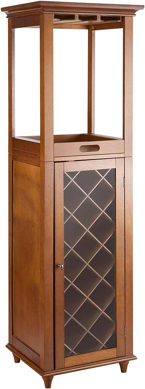 Elegant Home Fashions Franklin II Wine Cabinet
