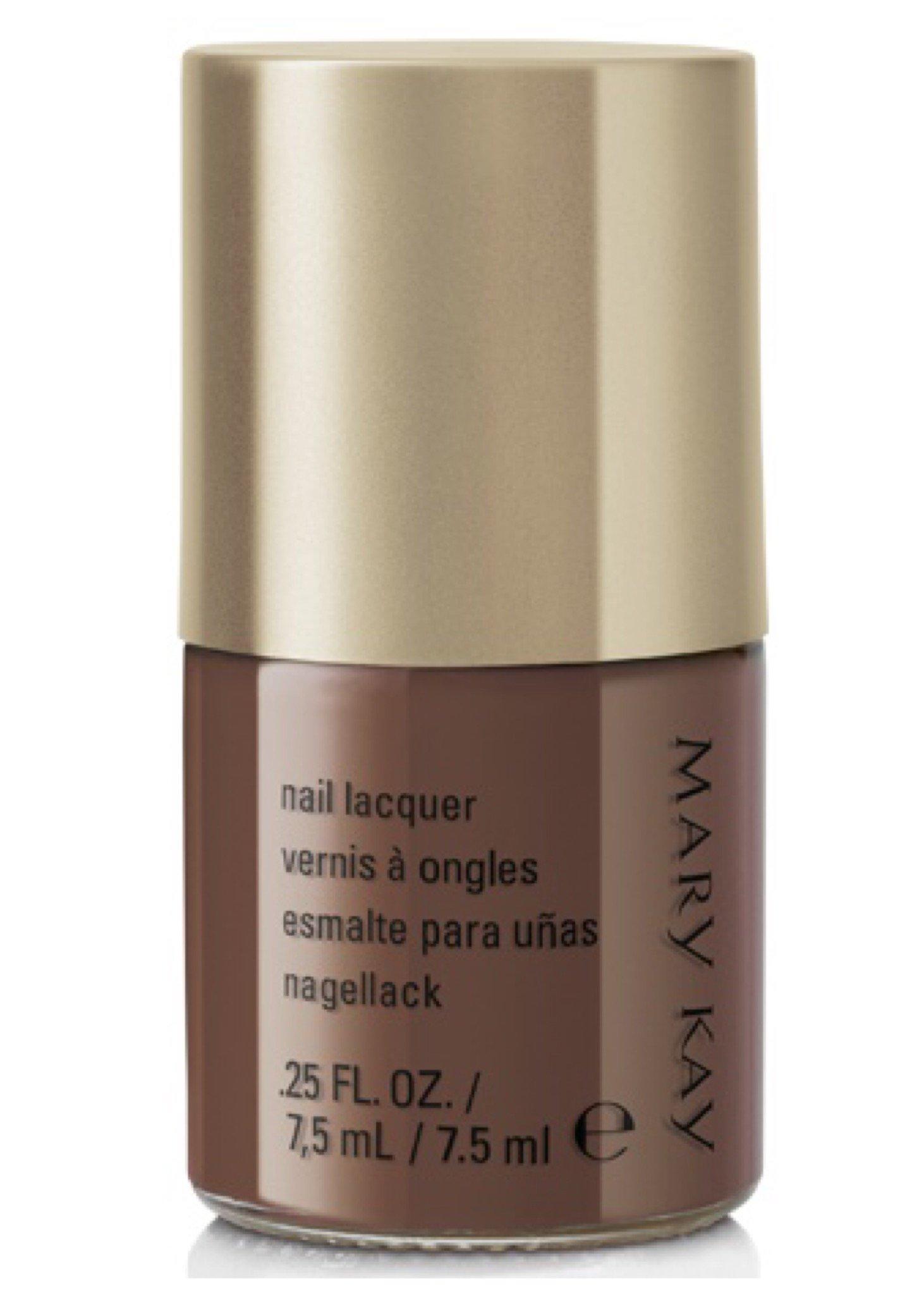 Amazon.com: Mary Kay nail lacquer polish plush plum in box 0.25 fl ...