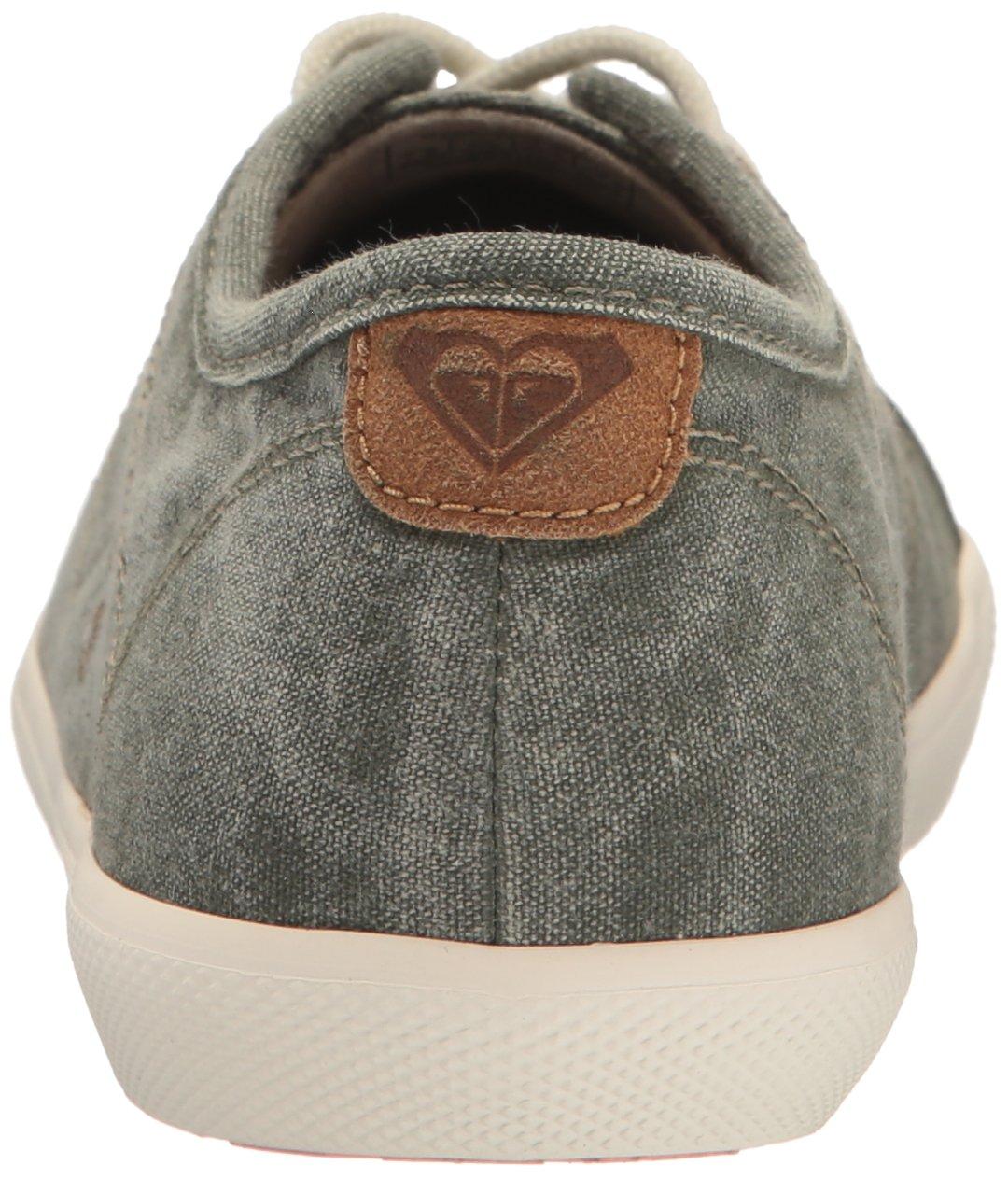 Roxy Women's Memphis Lace up Shoe Fashion Sneaker B01GOLL4EO 7 B(M) US|Olive