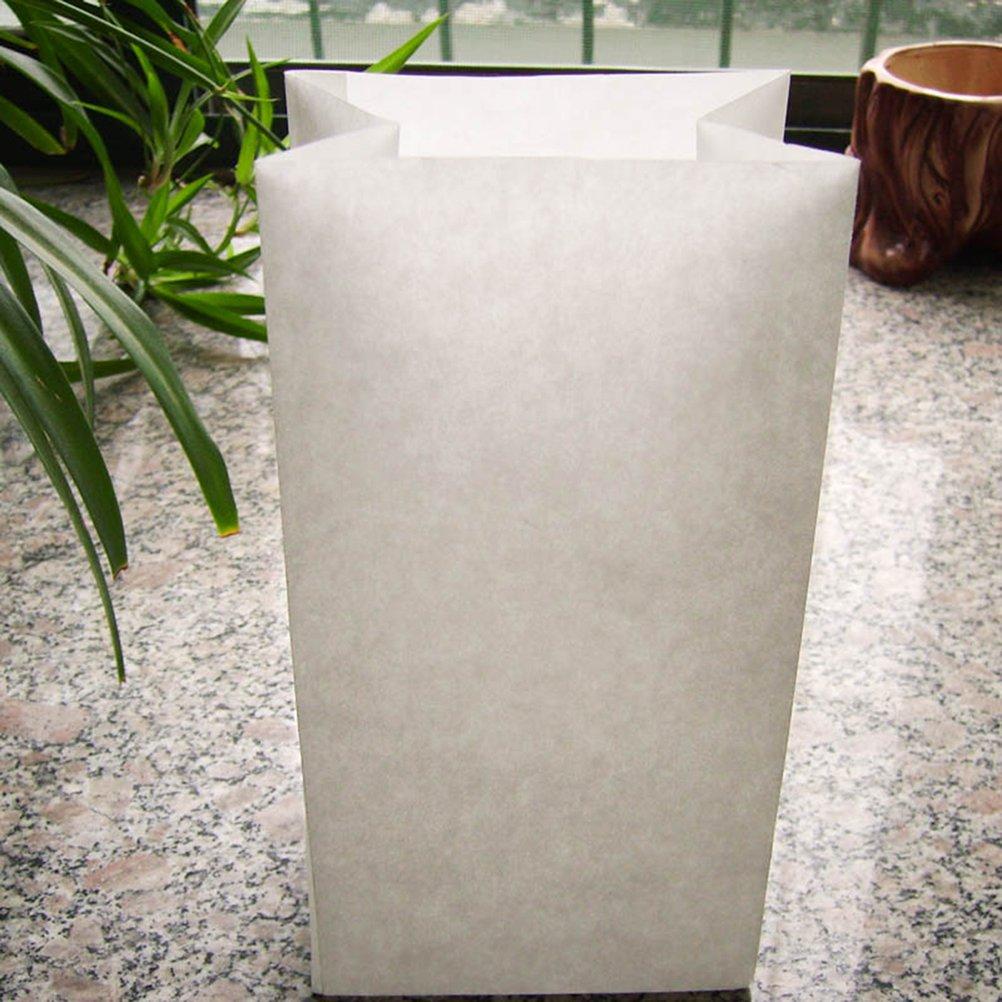 ULTNICE 25pcs desechables Barf bolsas de viaje bolsas de v/ómito blanco