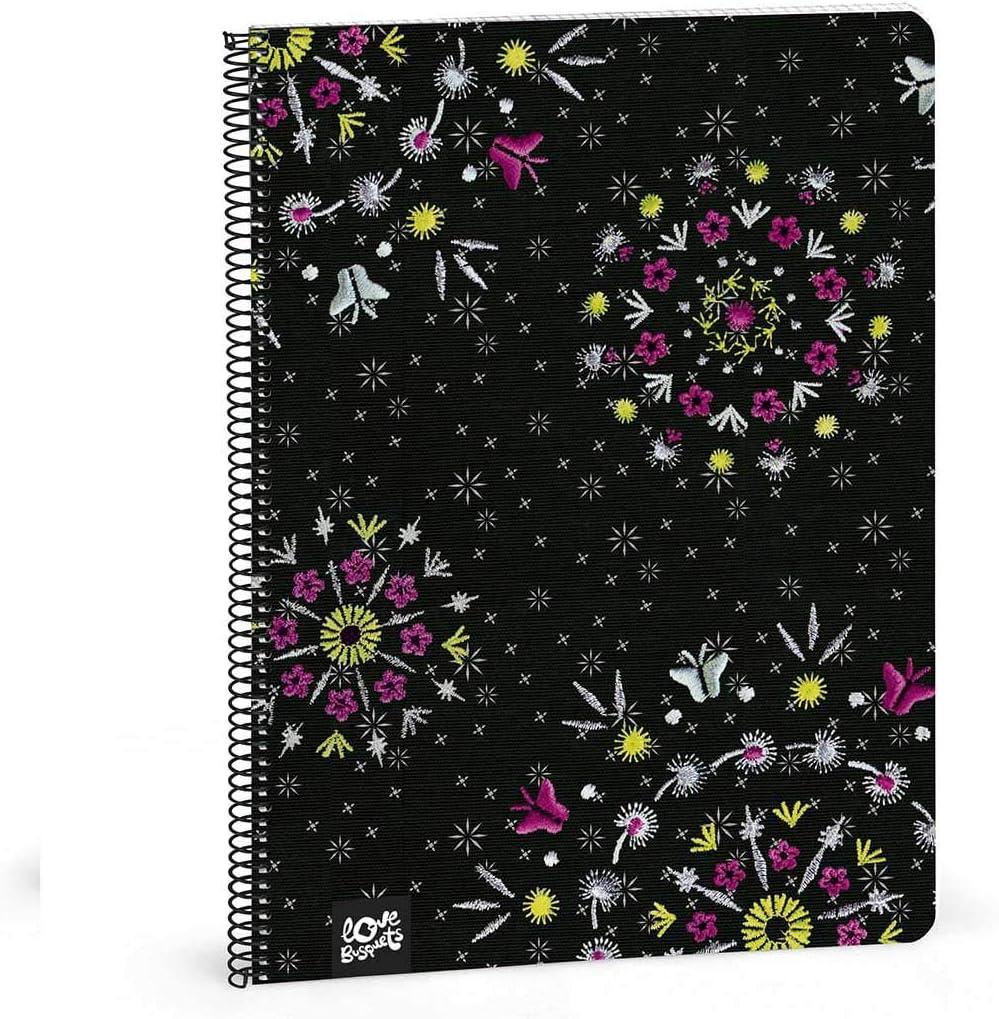 Busquets libreta a4 80 cuadricula Sparkly by: Amazon.es: Equipaje