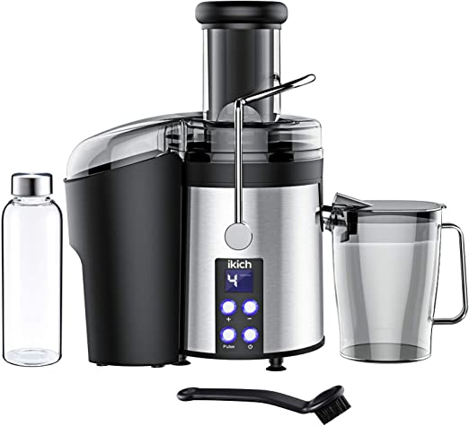 800W Carrot Juicer 12000RPM 4 Speed Juice Extractor 3