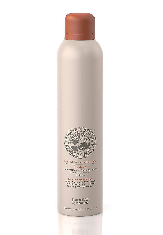 Tweak-d By Nature Restore Hair Treatment Finishing Spray For Dry Damaged Hair 8 oz.
