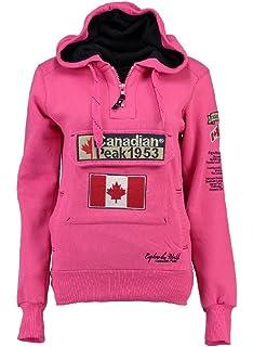 225f0e04cec705 Canadian Peak Sweat Jacket Flashy Lady: Amazon.co.uk: Clothing