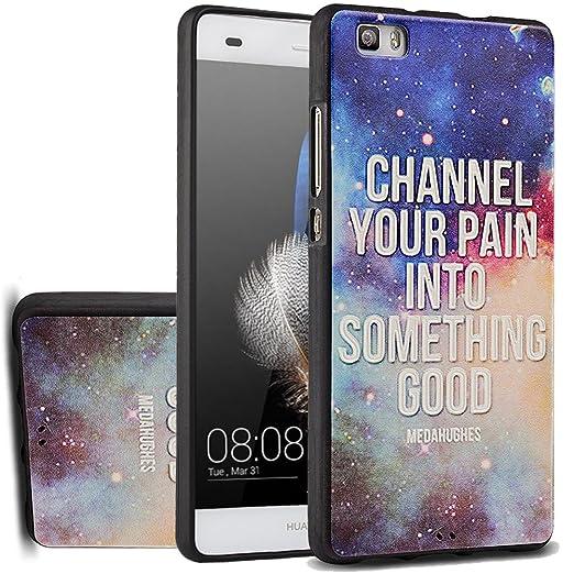 47 opinioni per MOONCASE Huawei P8 Lite Custodia, [Universe Galaxy] Creative 3D morbida TPU