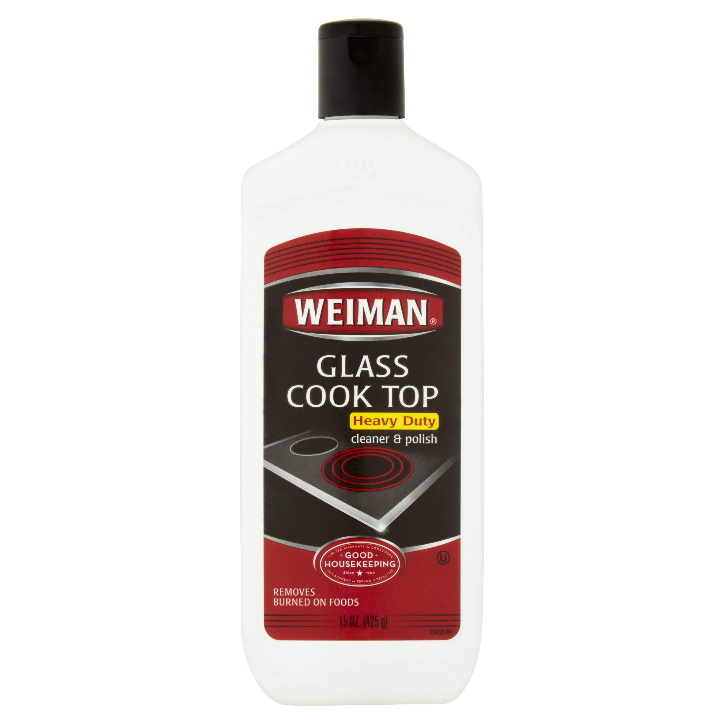 Weiman Glass Cooktop Heavy Duty Cleaner & Polish - Shines and Protects Glass/Ceramic Smooth Top Ranges with its Gentle Formula - 15 Oz, Pack of 7 by  (Image #1)