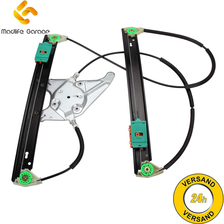 Madlife Garage 8L3837461 Elektrisch Fensterheber Reparatursatz 2//3 T/ürer ohne Motor Vorne Links A3 8L1