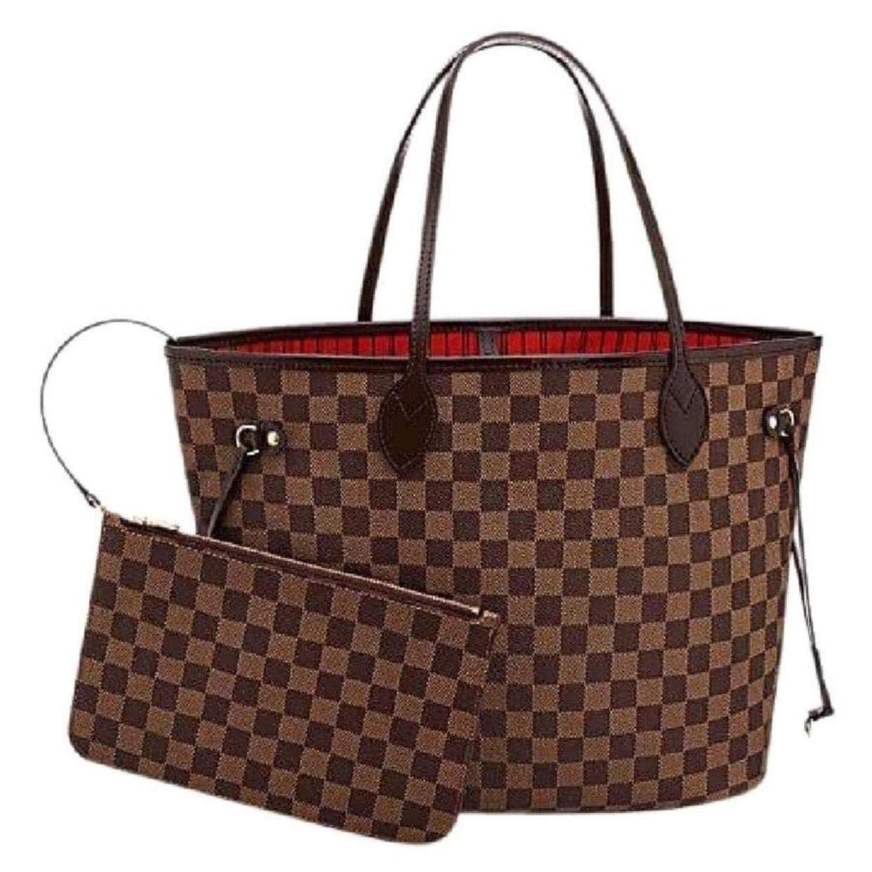 V Style Bags Women Handbag Tote MM Shoulder Bag Organizer made of Canvas Size 12.6 x 11.4 x 6.7 inches by Unknown Binding (Image #2)