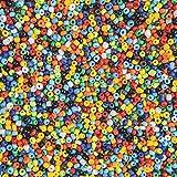 India Glass Seed Beads 1-lb Bag