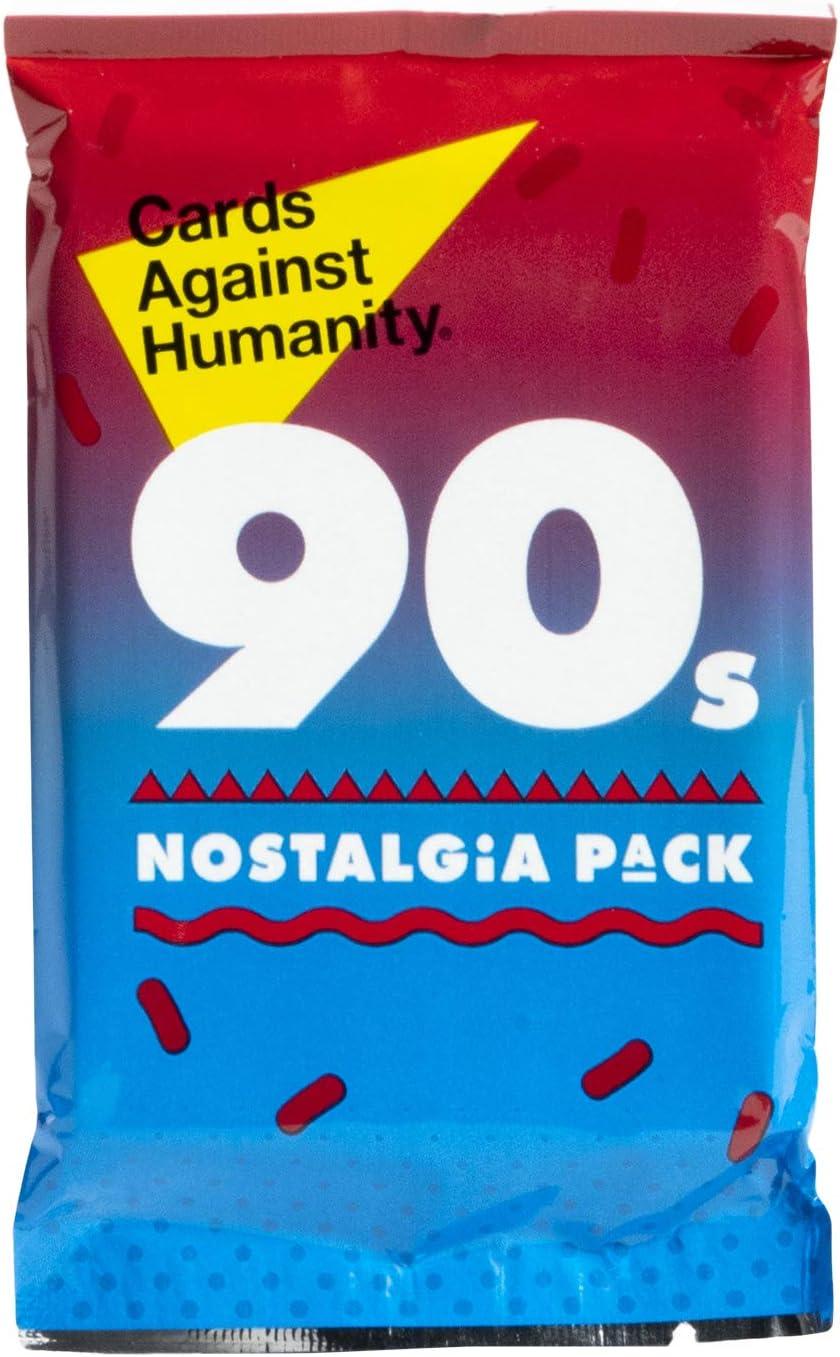 Tarjetas Against & Humanity Pack de expansión, 90s Nostalgia Pack: Amazon.es: Deportes y aire libre
