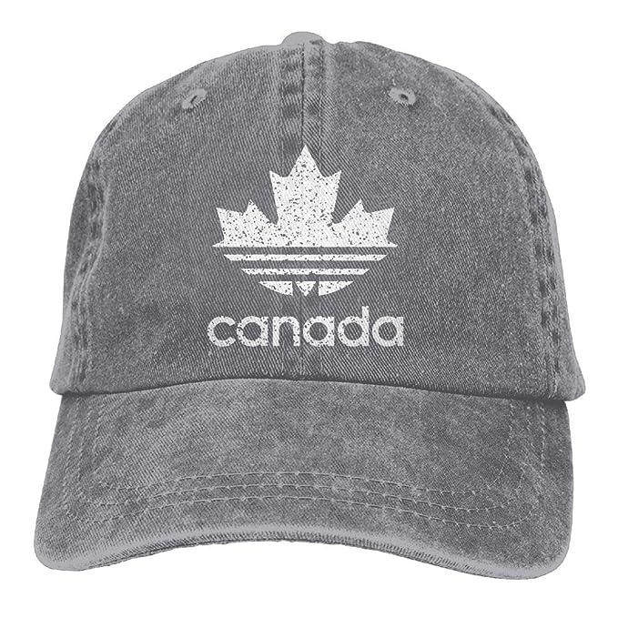JSHG JDJG Canada Weathered Logo Unisex Truck Baseball Cap Adjustable Hat  Military Caps at Amazon Men s Clothing store  a3d15849785