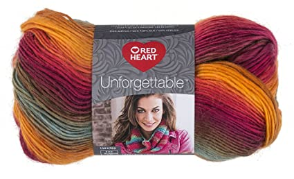 23a872716 Amazon.com  RED HEART Unforgettable Yarn